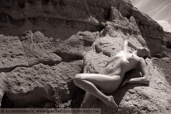Fine art nude photo workshop image by acclaimed photographer Allen Birnbach