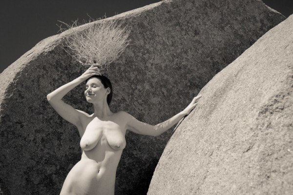 Fine art nude photo by photographer Allen Birnbach